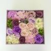 Kép 2/3 - Lila szappanvirág doboz