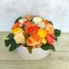 Kép 1/3 - Narancs virágbox - deluxe