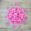 Kép 2/3 - Illatos rózsabox pink - 18 szálas
