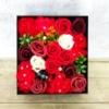 Kép 1/3 - Piros szappanvirág doboz