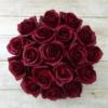 Kép 2/3 - Illatos rózsabox bordó - 18 szálas