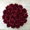 Kép 3/3 - Bordó rózsabox - 26 szálas