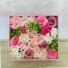 Kép 1/3 - Rózsaszin szappanvirág doboz