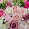 Kép 3/3 - Rózsaszin szappanvirág doboz