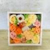 Kép 1/2 - Barackszínű szappanvirág doboz gyertyával