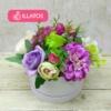 Kép 1/3 - Illatos virágbox lila - mini