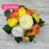 Kép 2/3 - Illatos virágbox narancssárga - mini