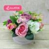 Kép 1/3 - Illatos virágbox rózsaszín  - mini