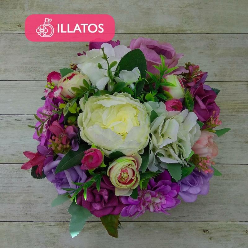 Illatos virágbox lila